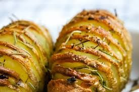 Cartofi  copti Hasselback