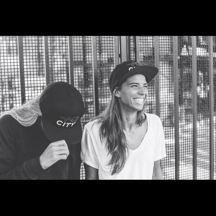 Allie Long, Tobin Heath || Portland Gear - Harry hat (Sept 1, 2017)
