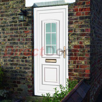 Image of External Maree One Georgian Bar Pvcu Door