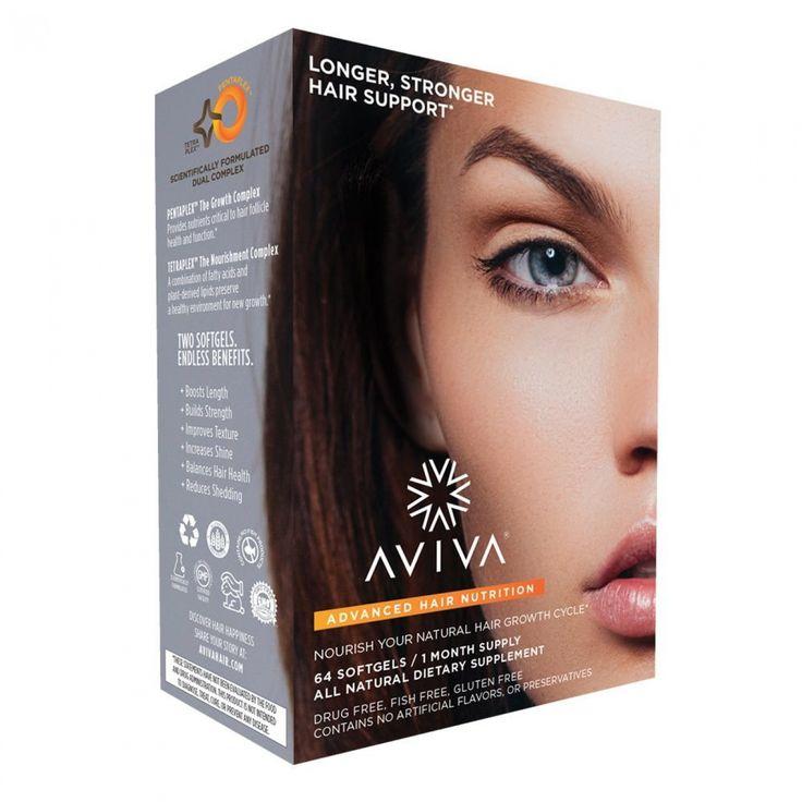 Advanced Hair Nutrition 1 Month Supply   Aviva Hair List of vitamin for hair growth.