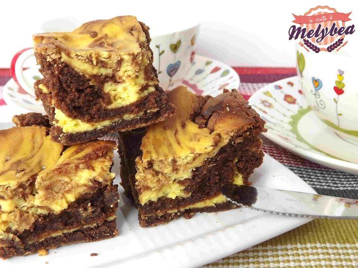 Brownies+al+formaggio