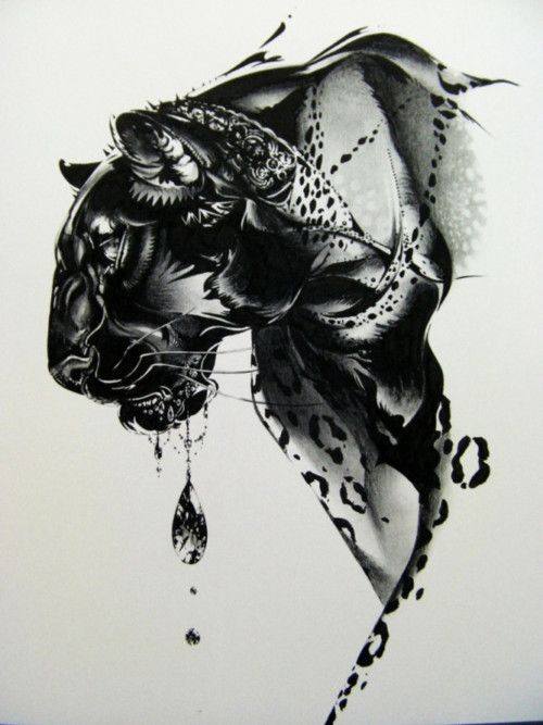 Illustration art ink drawing