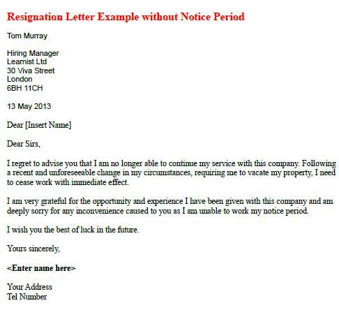 The 25+ best Resignation letter format ideas on Pinterest - weeks notice letter