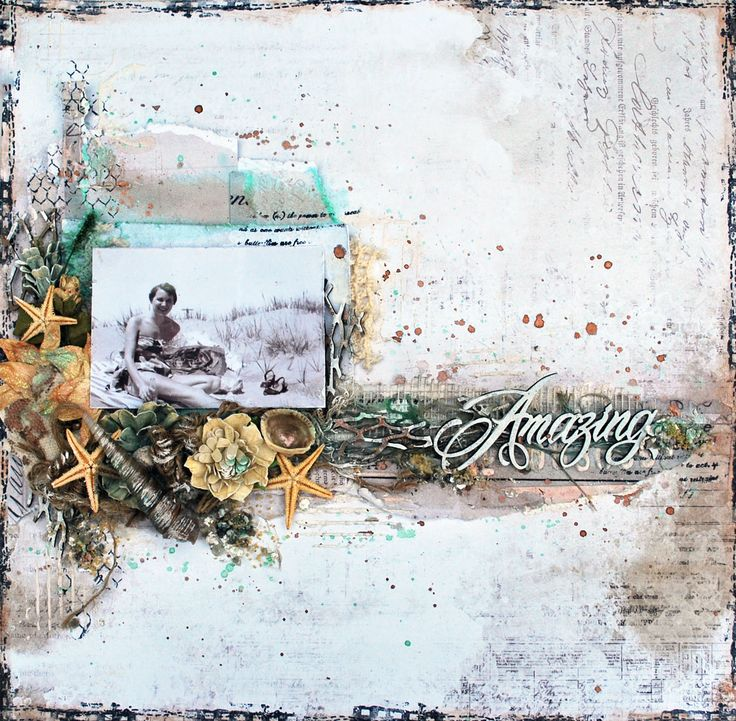 Amazing - Shimmerz Paints - 49 and Market Heirloom Botanicals collection and blooms