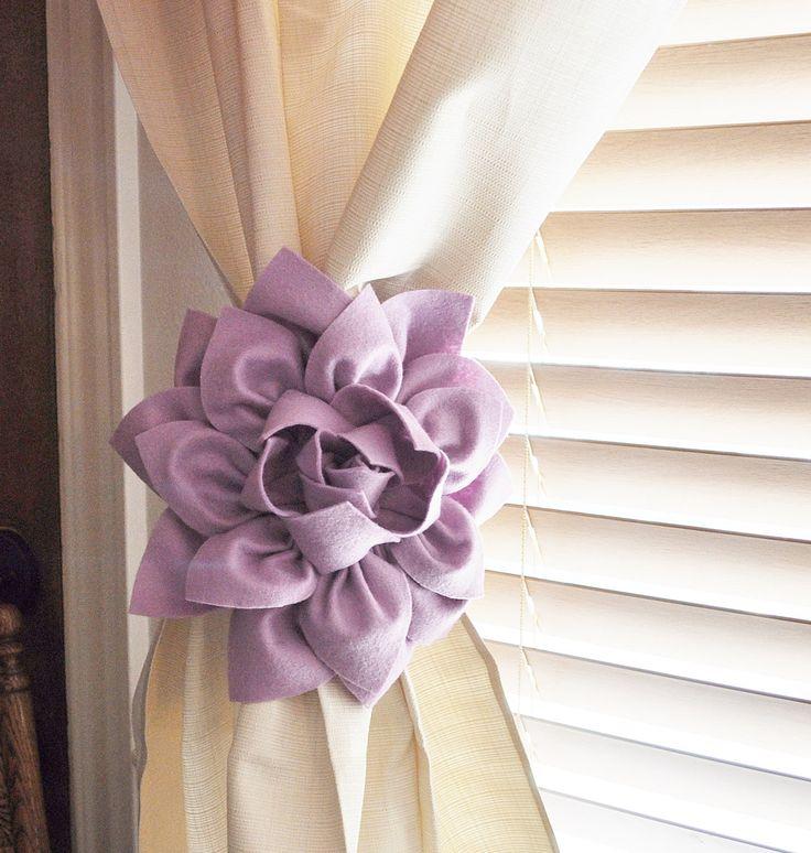 Best 25+ Diy Curtain Tiebacks Ideas On Pinterest | Curtain Tiebacks  Inspiration, Curtain Tie Backs And Black Curtain Tiebacks
