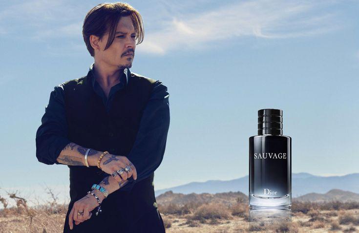 Johnny Depp, born to be Sauvage pour le nouveau parfum Dior