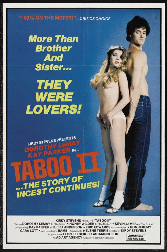 Taboo II 11x17 Movie Poster (1982)