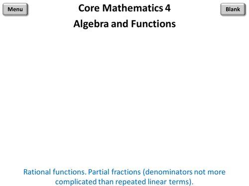 Core Mathematics 4 PowerPoint