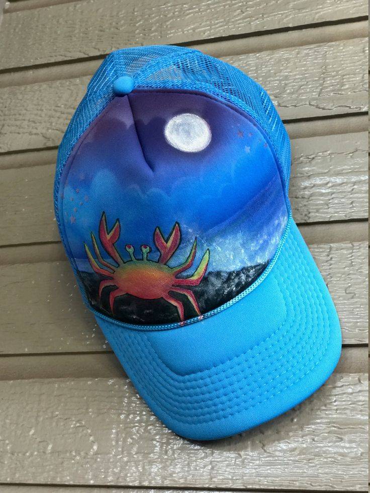 Supermoon Sleepwalk / With Crab by JustifiedMaui on Etsy