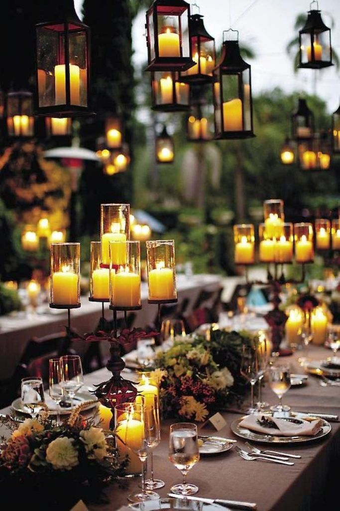 Candlelight Halloween Wedding Decoration Ideas Happily Ever After