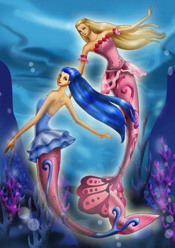 Barbie Mermaidia - barbie-movies Fan Art