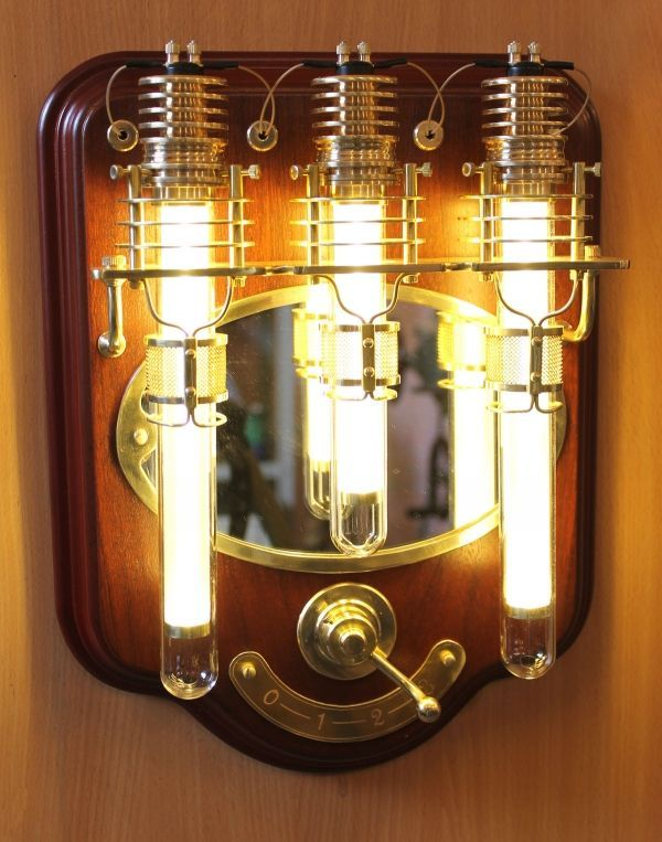 Steampunk Wall Light | Steampunk for the home | Pinterest
