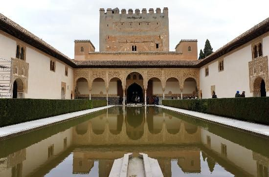 The Alhambra: The Court of the Myrtles