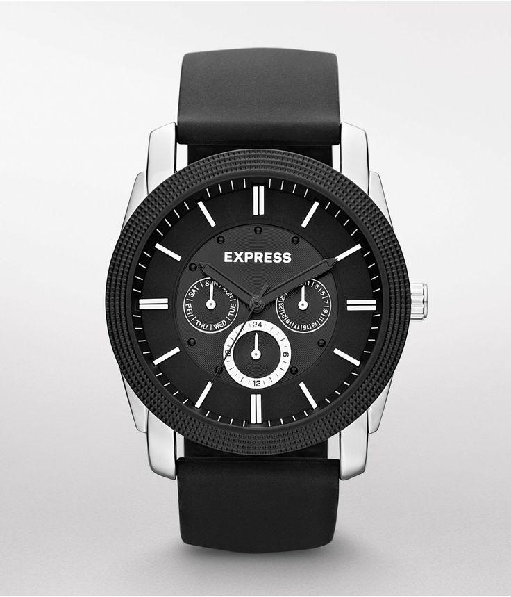 Every gentleman needs a classic timepiece. #Express