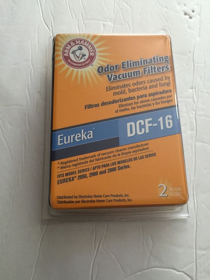 eureka vacuum filters dcf16 new odor eliminating vacuum filters set of 2 - Eureka Vacuum Filters