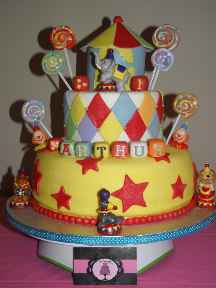 bolo circo circus cake gateau cirque my cakes pinterest circus cakes and cakes. Black Bedroom Furniture Sets. Home Design Ideas