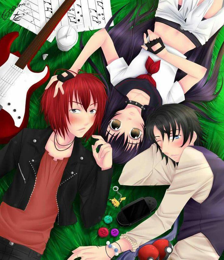 Esta seria mi vida con música ,  videojuegos ,anime o manga y youtuber
