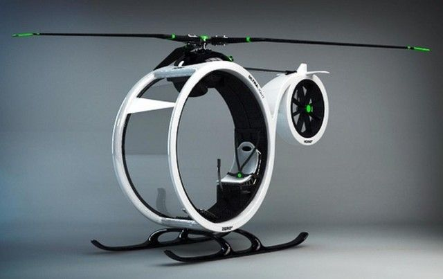 Zero ultralight helicopter concept