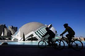 ciudad de las artes y las cincias valencia  city of arts and sciences valencia sunny day vlc