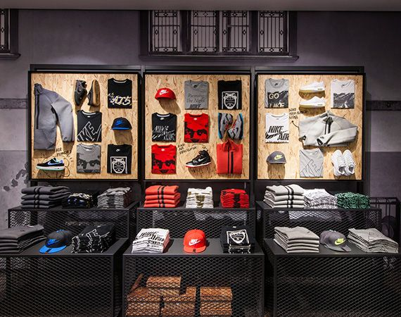 nike kicks lounge shanghai retail store design store on great wall chinese restaurant id=34126