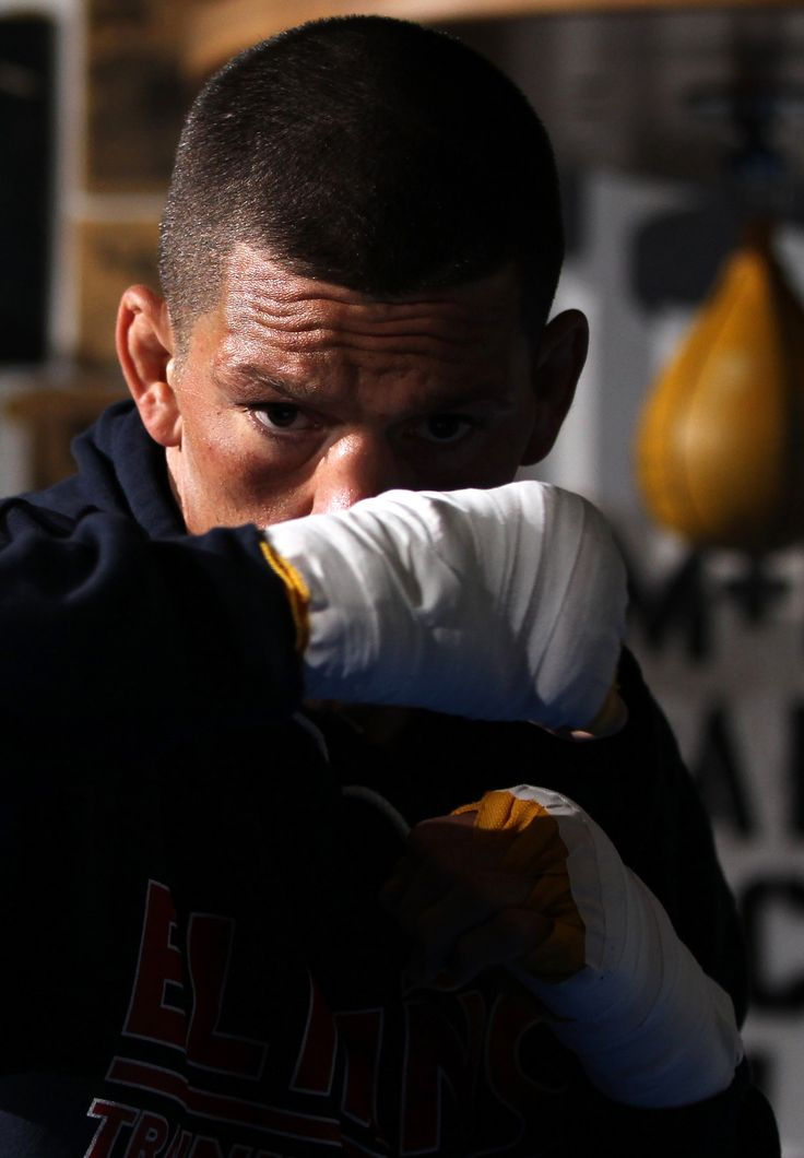 "Nate Diaz UFC - ""(Meat and cheese) grosses me out nowadays [...] I gave it up for a fight, then had it after not having it for a month, and it messed me up and made me sick [...] The food system, people don't realize what they're eating. You look at food and think, 'What's in that?' 'It's just chocolate!' 'It's just Gatorade!' But on the list of ingredients, there's a long list of garbage they put in your food. Not all that crap for me. It's just the way I live, man."""