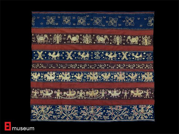 19th c. TAPIS of Lampung Sumatera