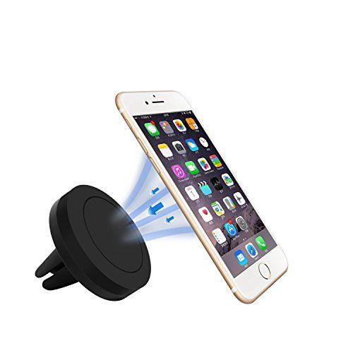 pomisty magnético coche soporte, Car Mount Holder 360grados universal ventilación Auto Soporte para iPhone 7/6/5, Samsung, Huawei, Nexus como Smartphone and Tablets. - http://www.tiendasmoviles.net/2017/07/pomisty-magnetico-coche-soporte-car-mount-holder-360-grados-universal-ventilacion-auto-soporte-para-iphone-765-samsung-huawei-nexus-como-smartphone-and-tablets/
