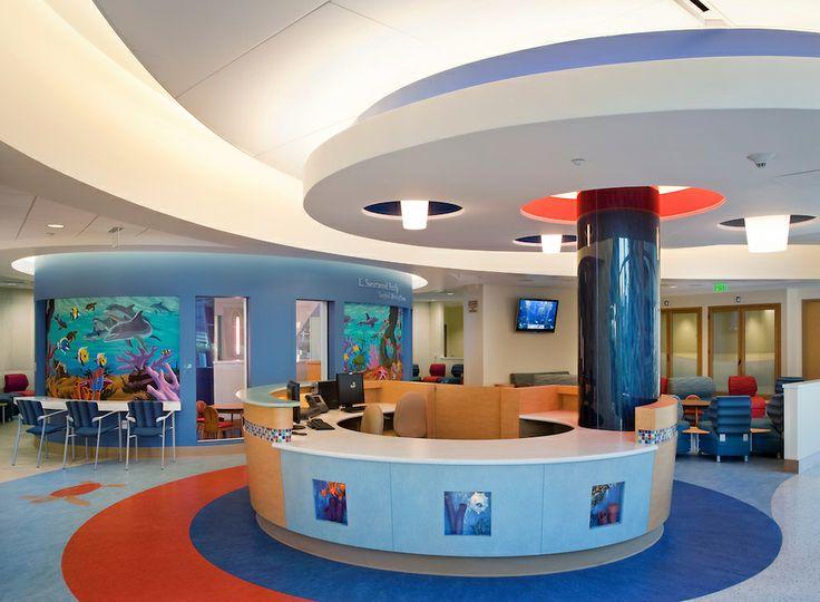 Pin By Steve Kopp Aia On Lobi Tasarimlari Childrens Hospital Healthcare Design Children Hospital