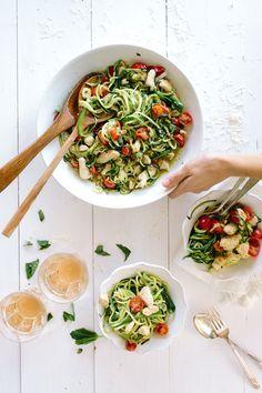 Zucchini Noodle Pesto Pasta | Recipe | Pesto Pasta, Zucchini Noodles ...