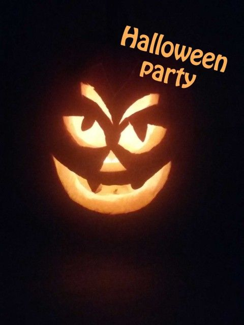 Halloween party 2016-10-29 at my place. Decorative event with activities