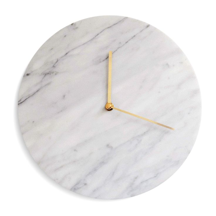 Marble Clock Menu Väggur | Olsson & Gerthel