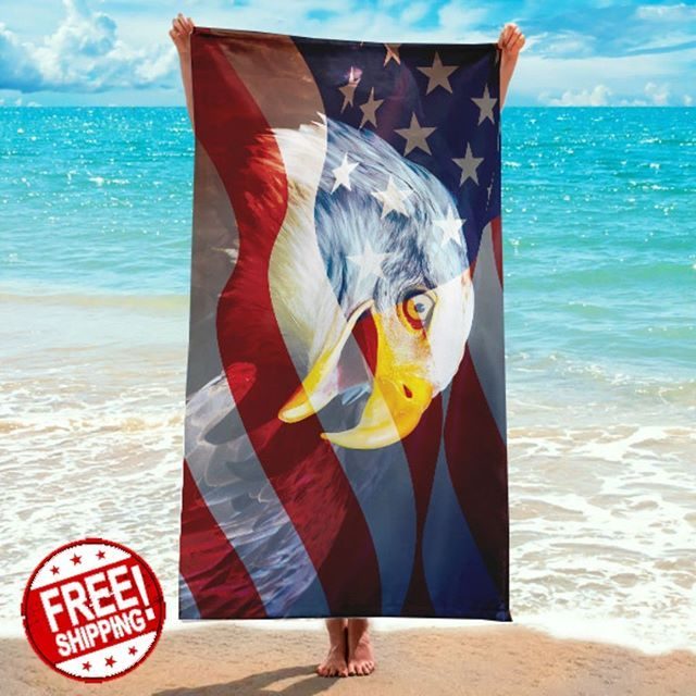 Celebrate The 4th Of July On The Beach With This Personalized
