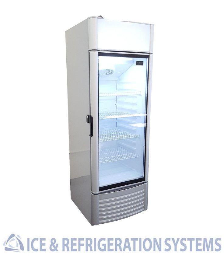 ACADIA COMMERCIAL GLASS DOOR SODA BEER REFRIGERATOR COOLER MERCHANDISER XLS250FC | eBay