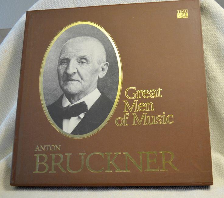 Anton Bruckner - Time Life Great Men of Music Boxed Vinyl Set of Classical Music by DJsVintageCache on Etsy