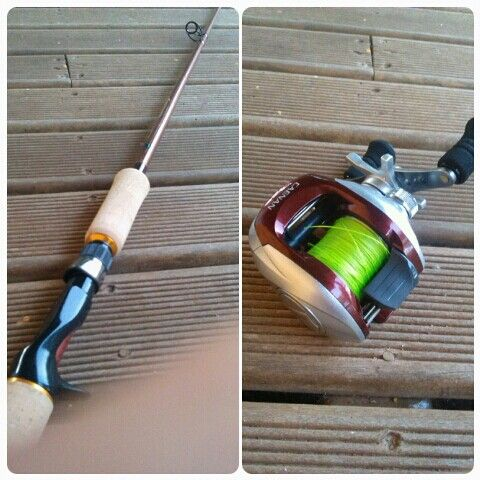Brand new fishing rod and reel