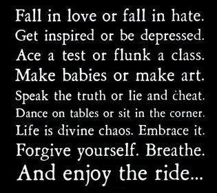 Fall in love or....