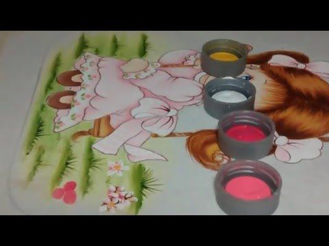 Dica:como pintar florzinhas do campo - YouTube
