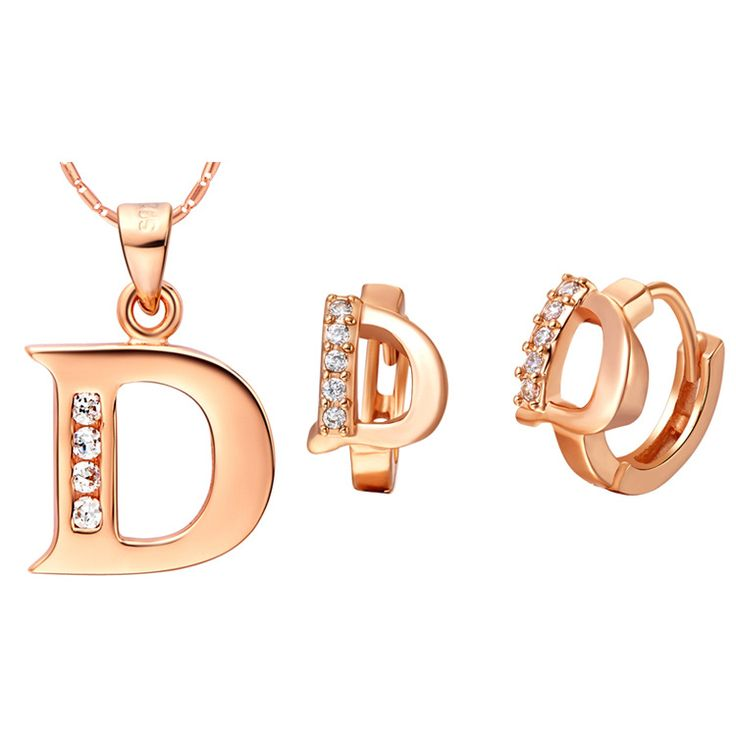 Luxury Women's Necklace Earrings Jewelry Sets SA 925 Sterling Silver made of 26 letters set two color letters D Pendant Earring,   Engagement Rings,  US $23.93,   http://diamond.fashiongarments.biz/products/luxury-womens-necklace-earrings-jewelry-sets-sa-925-sterling-silver-made-of-26-letters-set-two-color-letters-d-pendant-earring/,  US $23.93, US $23.93  #Engagementring  http://diamond.fashiongarments.biz/  #weddingband #weddingjewelry #weddingring #diamondengagementring #925SterlingSilver…