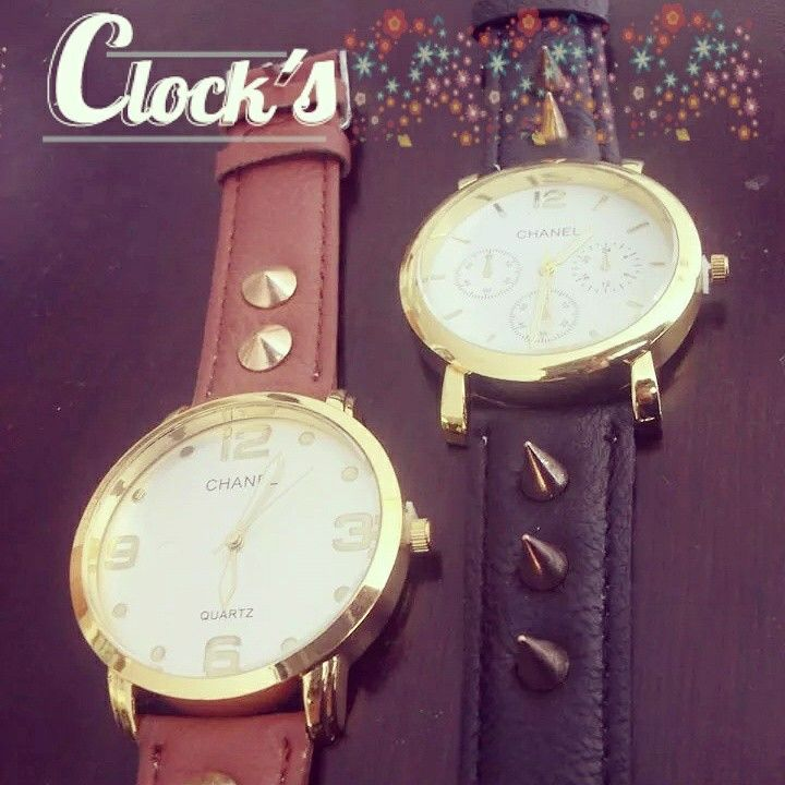 Relojes clock's