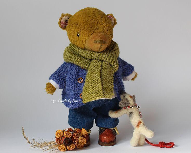 Pierre & Lulu  #HandmadebyEnna #handmadeteddybears #teddybear #collectableteddybears
