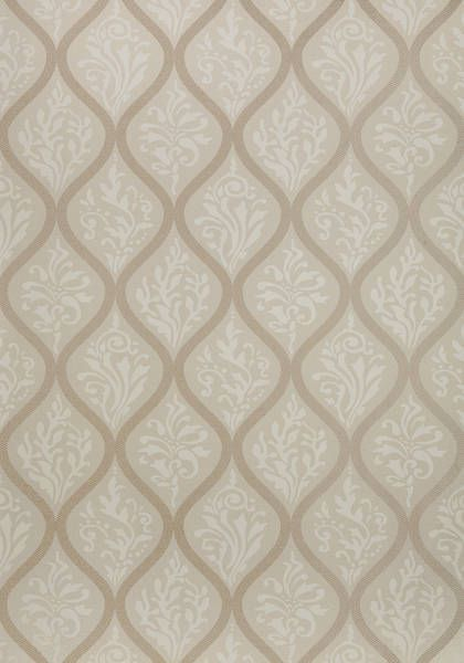 Francis #wallpaper in #pearl on #cream from the Anna French Lyric collection. #Thibaut #AnnaFrench