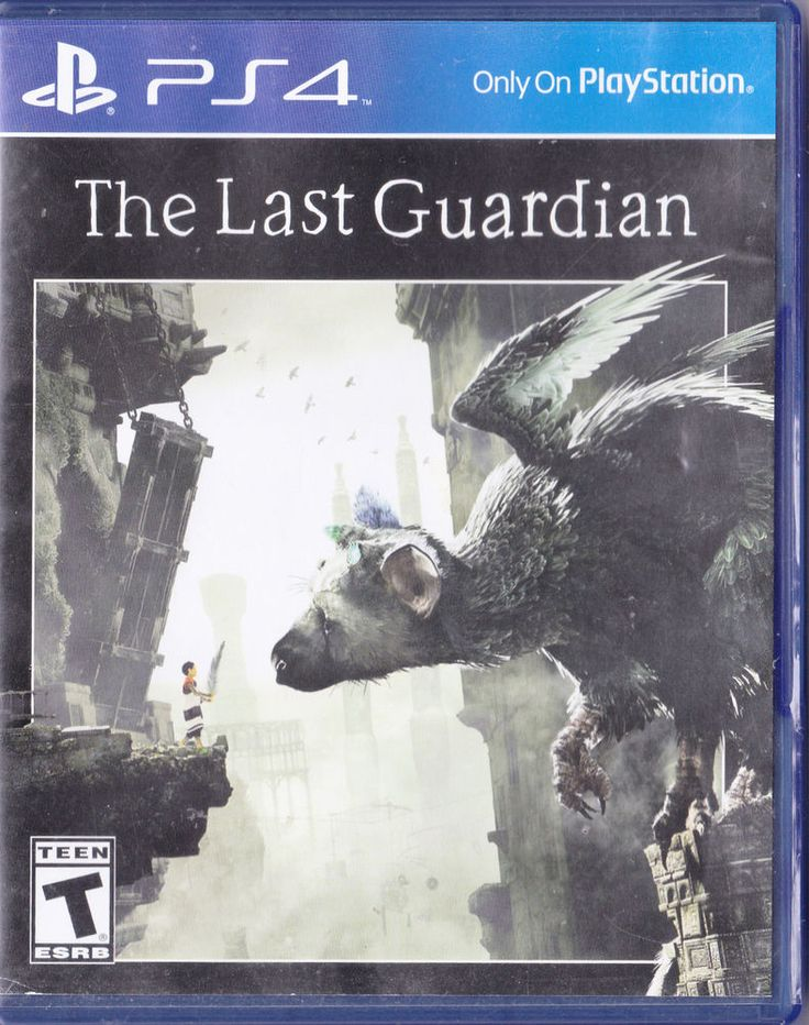 The Last Guardian (Sony PlayStation 4, 2016) Video Game PS4