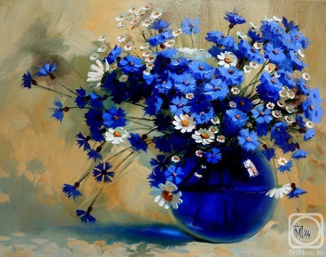Павлова Мария. Синий букетик