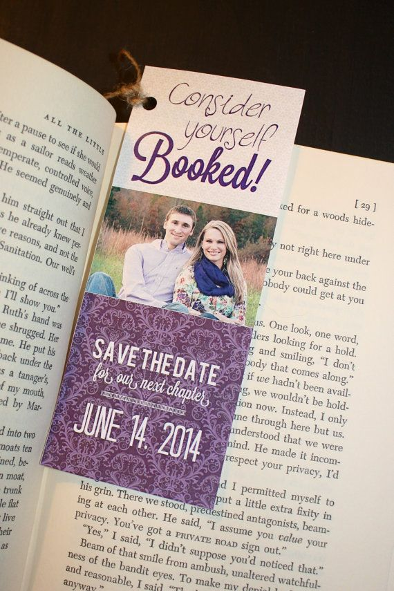32 best Save the date bookmarks images on Pinterest