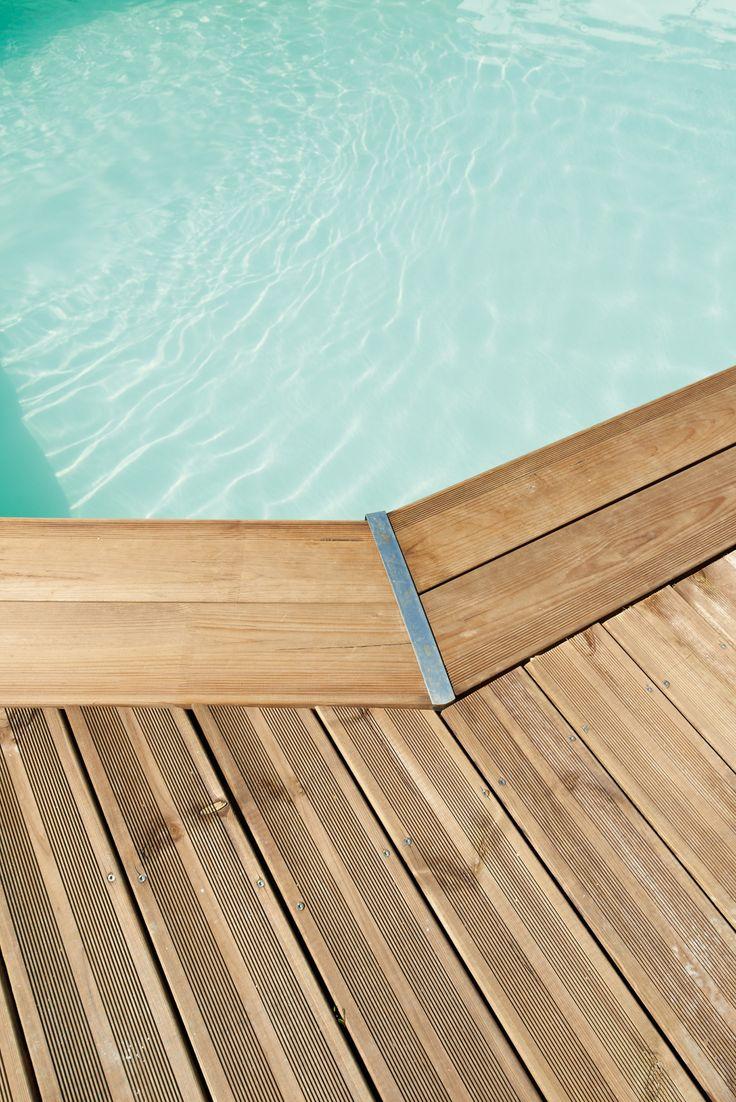 25 beste idee n over lames de terrasse op pinterest pergola lames orientables dakterras en - Foto terrasse bois ...