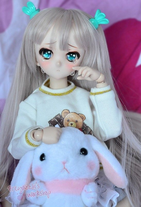 Custom dollfie dream ddh10 #dollfie #dream #bjd #dollfiedream #balljointeddoll #kawaii #cute