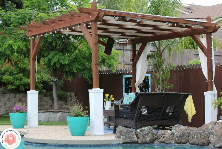 how to build a pergola in one weekend
