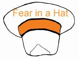 Group counseling activities - fear in a hat. Could adapt w/ various topics for family sessions.