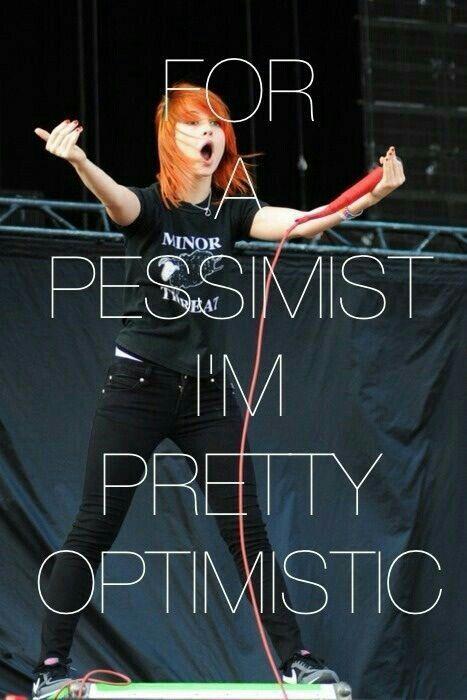 Optimistic pessimist