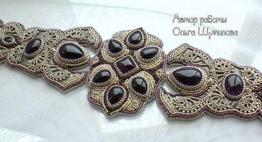 Amazing beaded accessories by Olga Shumilova   Beads Magic